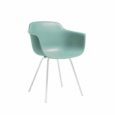 Christophe Mid Century Dining Chair Color: Surfin