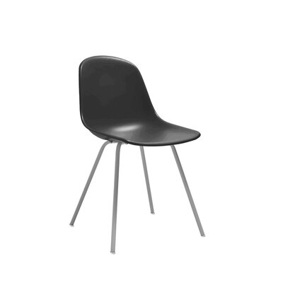 Christophe Dining Chair Color: Black