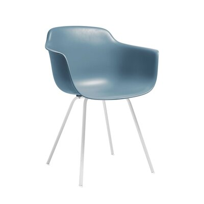 Christophe Mid Century Dining Chair Color: Slate