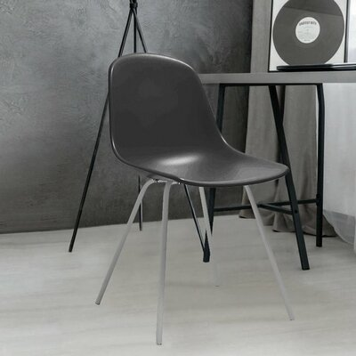 Costales Dining Chair Color: Black