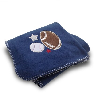 Football/Baseball Fleece Blanket