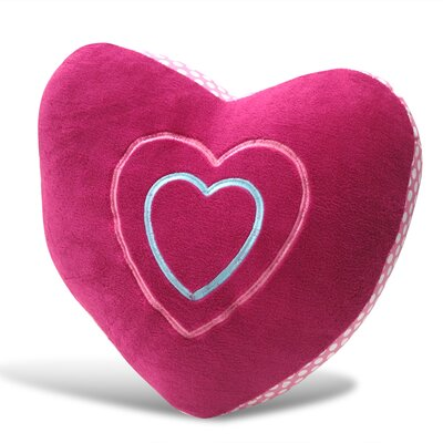 Heart Shaped Decorative Pillow