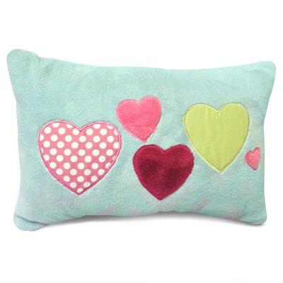 Heart Decorative Lumbar Pillow