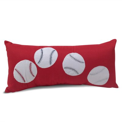 Sport Baseball Lumbar Decorative Pillow