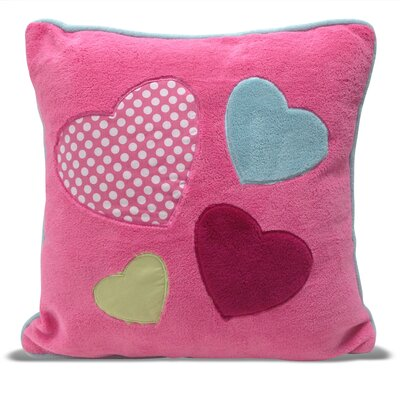 Heart Square Decorative Pillow