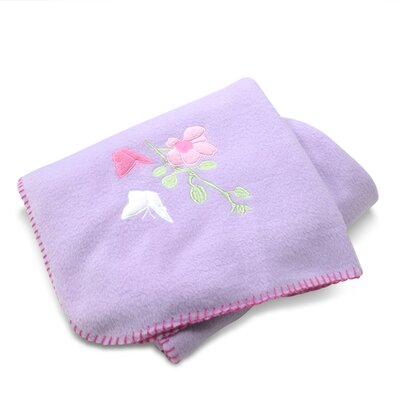 Floral and Butterfly Fleece Blanket