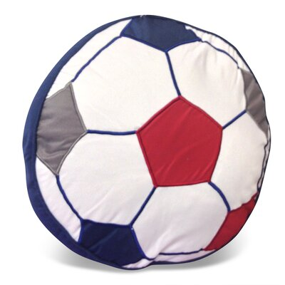 Soccer Ball Shaped Decorative Pillow