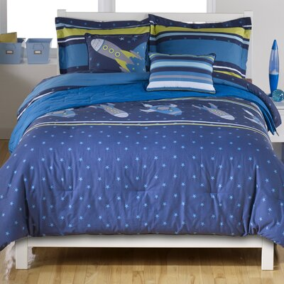 Rocket Comforter Set Size: Full
