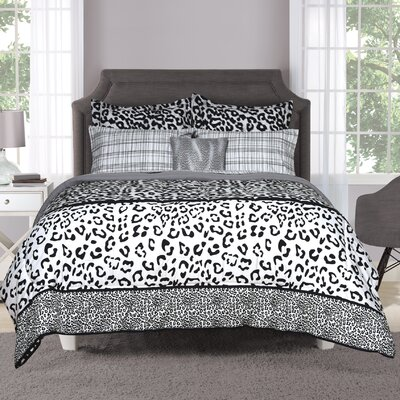 Chelsea 7 Pieces Bed in a Bag Set Size: Queen