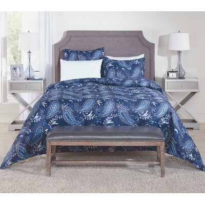 Paisley Coverlet Set Size: Twin
