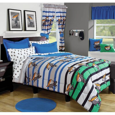 Ninja Duvet Cover Set Size: Full