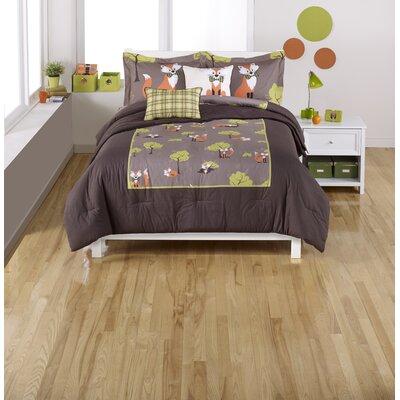 Fox 2 Piece Comforter Set Size: Twin