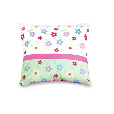 Garden Floral Throw Pillow