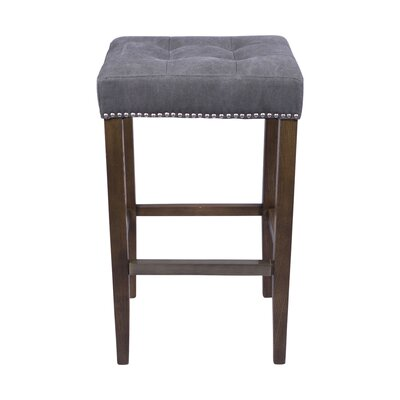 Bukovice 30 Rustic Square Bar Stool
