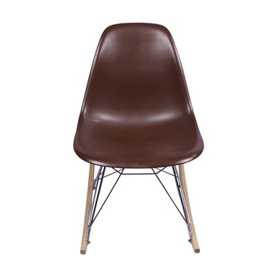 Rocking Chair Finish: Brown PV-EAMES-R-BR