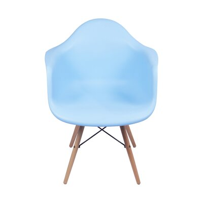 Armchair Upholstery Color: Blue