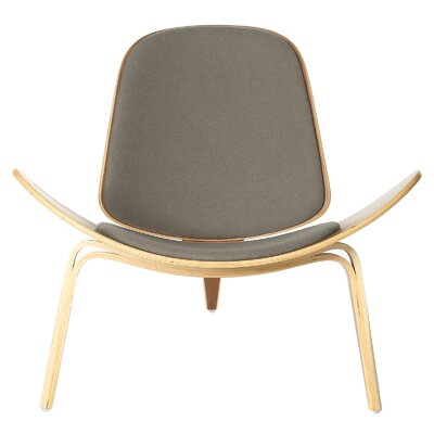 Architect Side Chair Upholstery Color: Grey