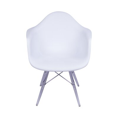 Inspired Arm Chair Upholstery: White