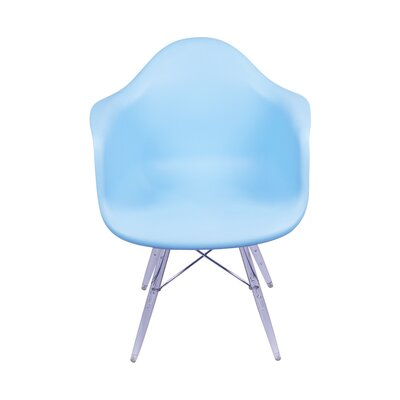 Inspired Arm Chair Upholstery: Blue