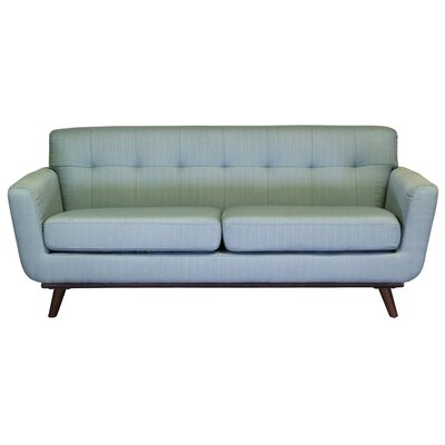 Retro 3 Seater Sofa Upholstery: Light Blue
