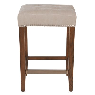 Bukovice 26 Wooden Beige Bar Stool