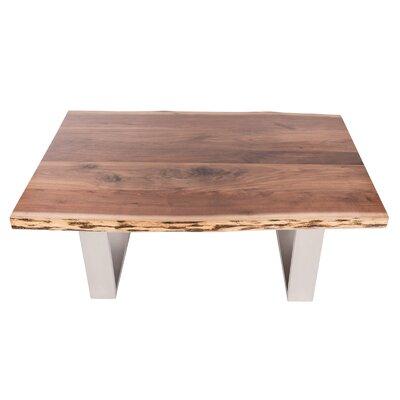 Live Edge Coffee Table Finish: Walnut