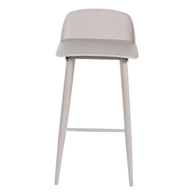 30 Bar Stool Color: Grey