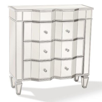 Elegant Mirrored Accent Chest PV-JS8104-MIR