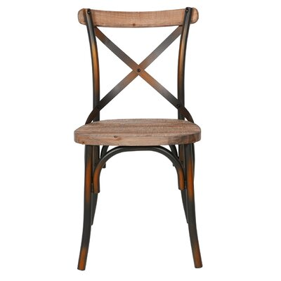 Solid Wood Dining Chair Finish: Antique Copper