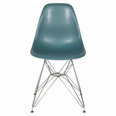 Ethan Side Chair Seat Finish: Teal