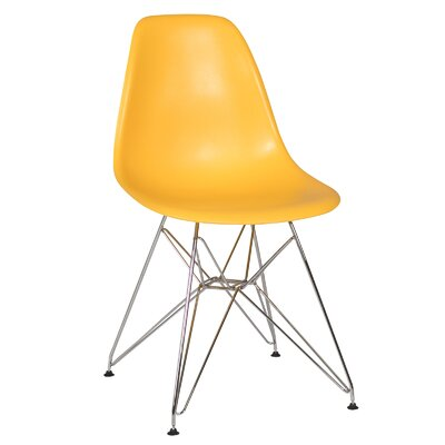 Ethan Side Chair Seat Finish: Yellow