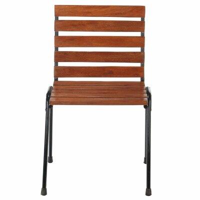 Cofield Wood Slat Side Chair