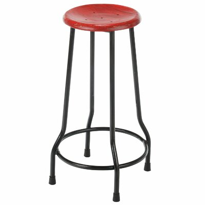 Taverny 26 Bar Stool Finish: Red