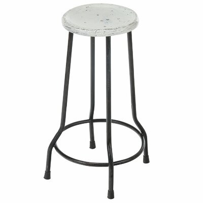 Taverny 26 Bar Stool Finish: White