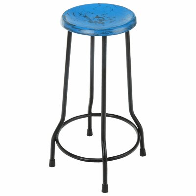 Taverny 26 Bar Stool Finish: Blue