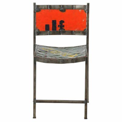 Travis Recycled Oil Drum Side Chair