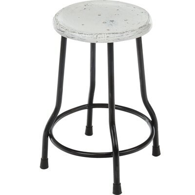 Landen Farmhouse Bar Stool Finish: White