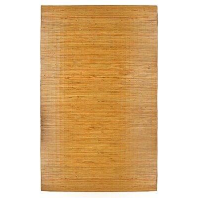 Arvilla Bali Hand-Woven Brown Area Rug Size: 96 x 14