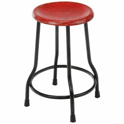 Landen Farmhouse Bar Stool Finish: Red