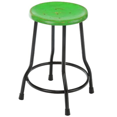 Landen Farmhouse Bar Stool Finish: Green