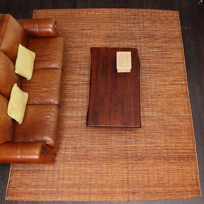 Chemung Natural Hand Woven Brown Area Rug Rug Size: 9 X 12