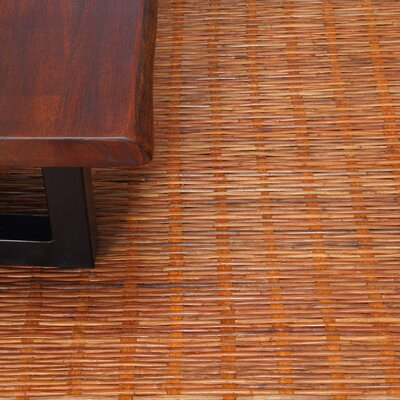 Chemung Hand-Woven Natural Brown Area Rug