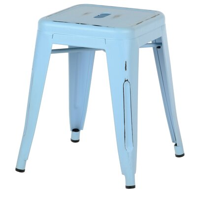 18 Bar Stool Finish: Antique Blue