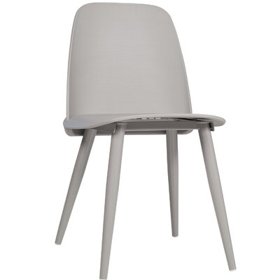 Sowell Mid-Century Modern Dining Chair Color: Gray