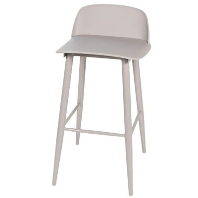 Sowers Mid-Century Modern 30 Bar Stool Color: Gray