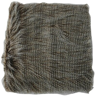 Faux Fur Animal Throw Blanket