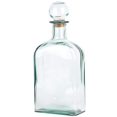 Decorative Bottle With Glass Top