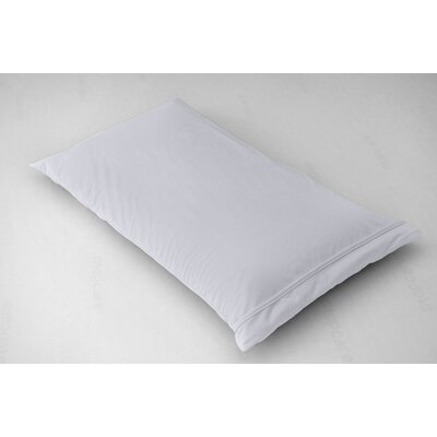 Breathable and Waterproof Pillowcase and Protector Color: White