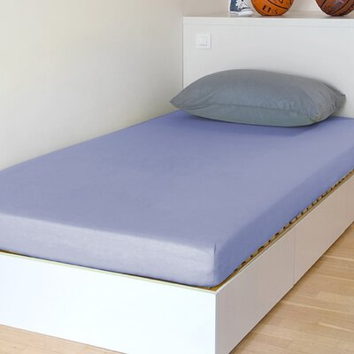 Breathable and Waterproof Select Fitted Sheet and Protector Size: 75 H x 54 W x 12 D, Color: Lavender