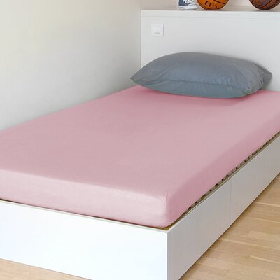 Breathable and Waterproof Select Fitted Sheet and Protector Color: Pink, Size: 75 H x 38 W x 12 D